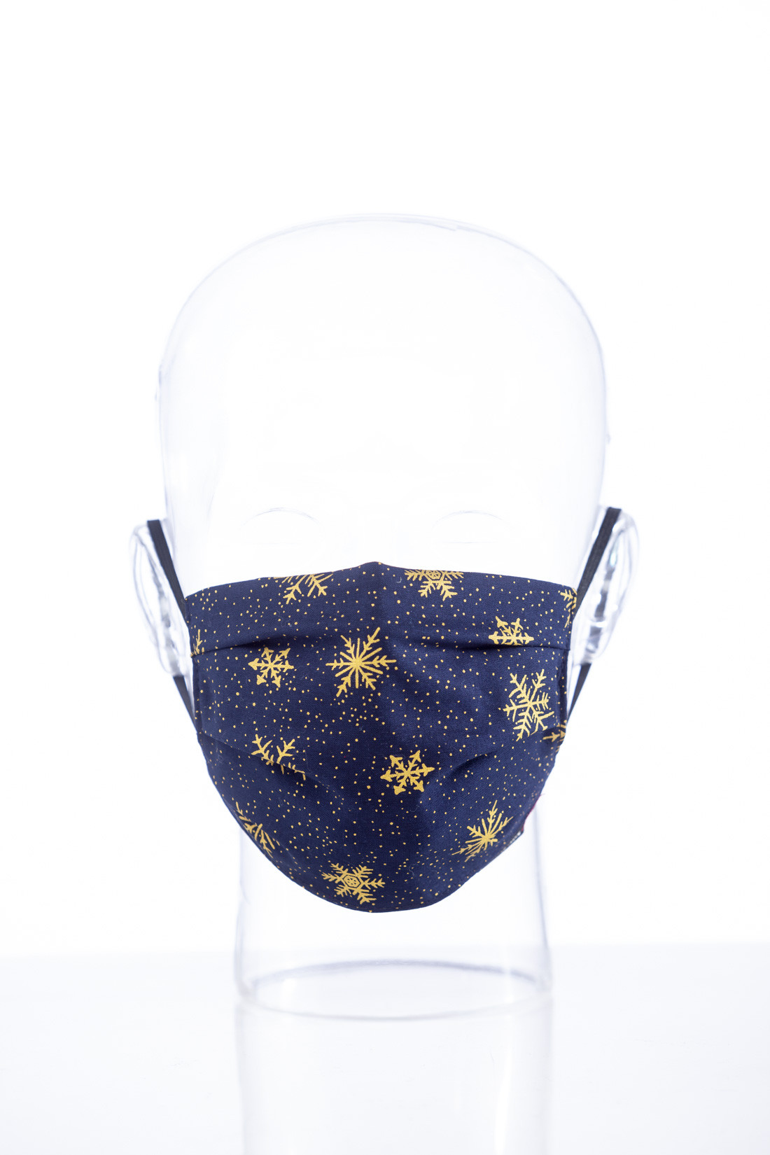 "Facemask ""Christmas blue"""