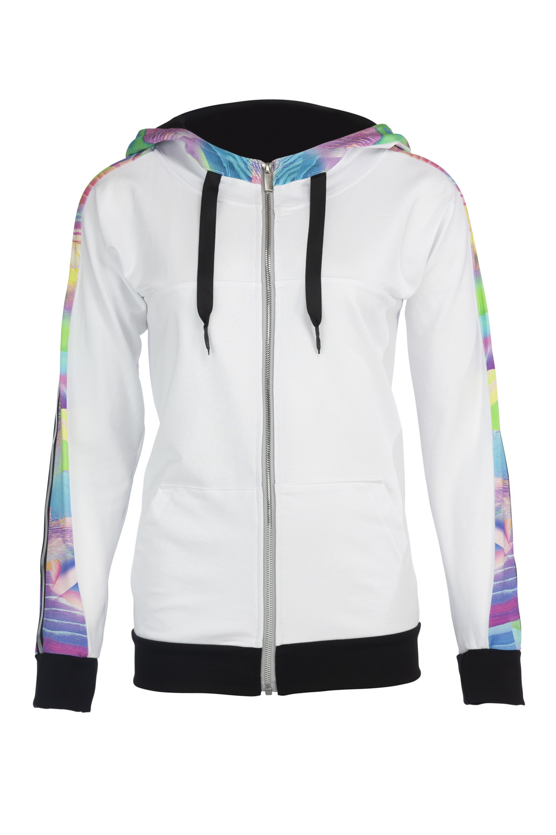 "Hoody Jacket ""tropical sport"" Lady"