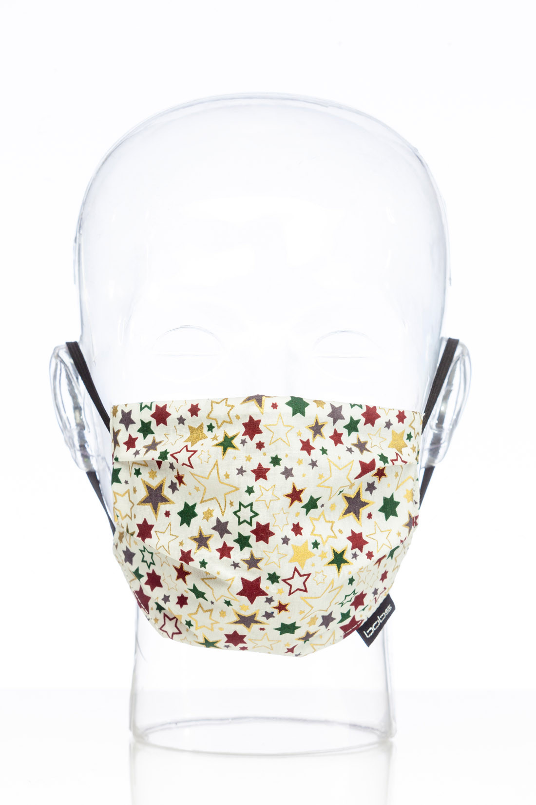 "Facemask ""Christmas white"""